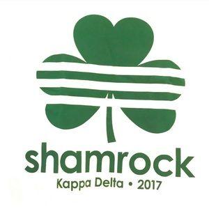 Kappa Delta Sorority Greek KD T-Shirt Tee Shamrock